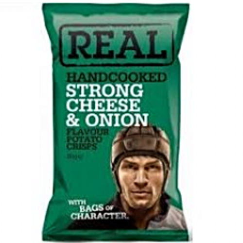 REAL STRONG CHEESE & ONION 50g